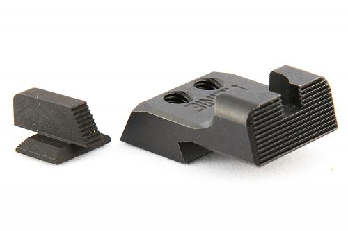 Ruger 1911 Ledge Tactical Black Sight Set