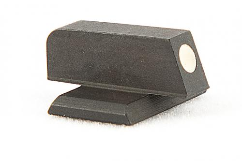 312D Heinie Cross Dovetail Front Sight with White Dot