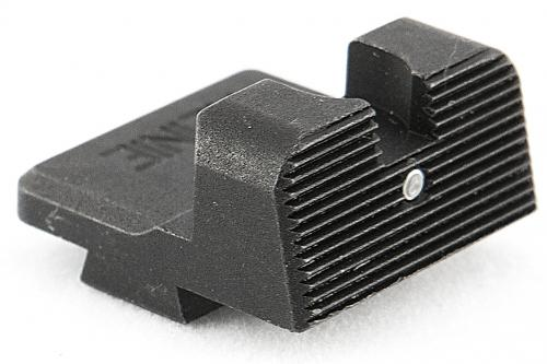 Glock Suppressor Ledge Tactical Rear Night Sight with Tritium Insert