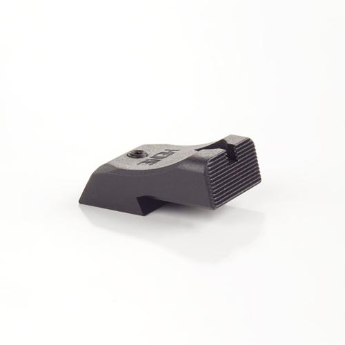 Ultra Low Mount 1911 SlantPro Black Rear Sight