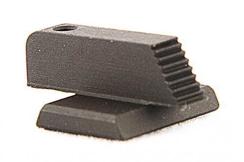 Cross Dovetail Black Front Sight .330x65